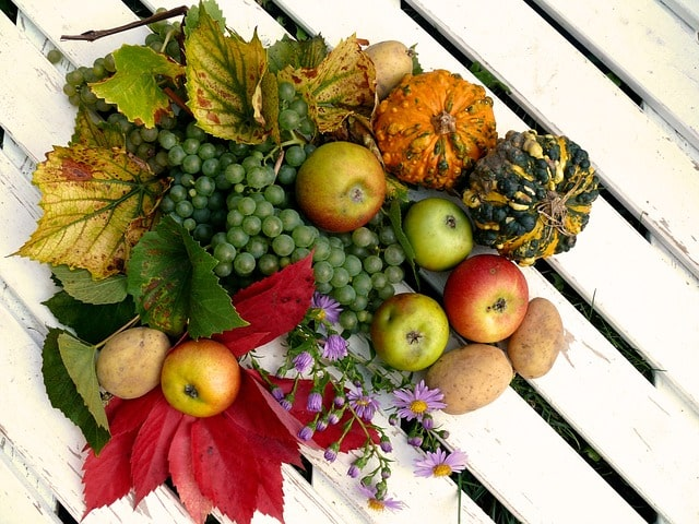 full harvest and great fruits